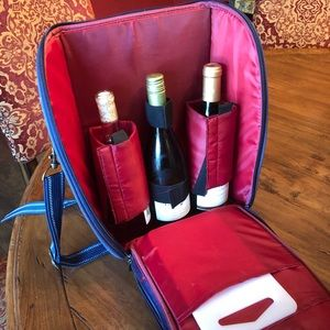 Other - Wine and cheese backpack with cutting board